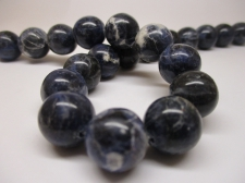 Dumortierite 14mm +/-27pcs