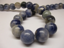 Dumortierite 12mm +/-33pcs
