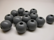 PASTEL WOOD 12MM 125G GREY