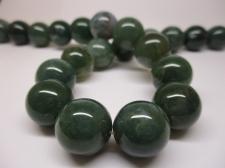 Green Agate 16mm +/-25pcs