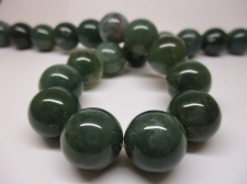 Green Agate 16mm +/-25pcs