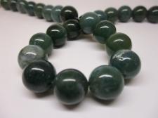 Green Agate 12mm +/-33pcs