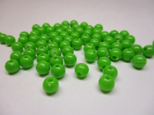 PONY BEADS 6MM 250G LIME