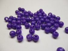 PONY BEADS 6MM 250G PURPLE