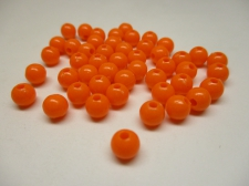 PONY BEADS 6MM 250G ORANGE