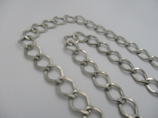 Chain 13x10mm link 1m