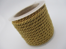 Braided Cord 2.5mm +/-3m Gold
