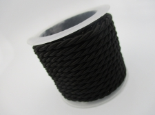 Braided Cord 2.5mm +/-3m Black