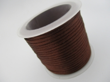 China Knot Cord 2mm +/-8m Brown