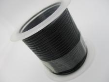 Wax cord 2mm Black +/-2m