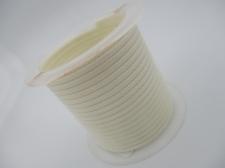 Wax cord 2mm White +/-2m