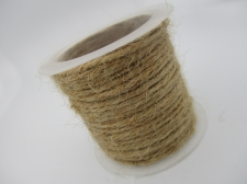 Hemp Cord 1.5mm +/- 5m Natural