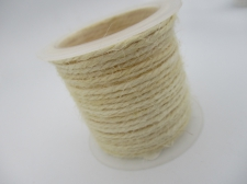 Hemp Cord 1.5mm +/- 5m Cream