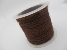 Hemp Cord 1.5mm +/- 5m Brown