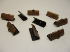 RIBBON CRIMP16MM COPPER 20PCS