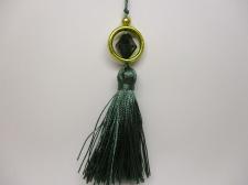 Tassels 5pcs #3 Green