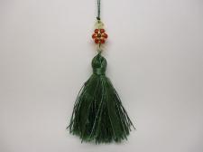 Tassels 5pcs #4 Green