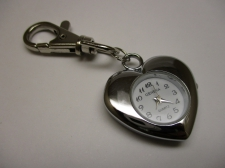 WATCH FACE KEY CHARM HEART