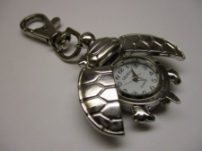 WATCH FACE KEY CHARM TURTLE