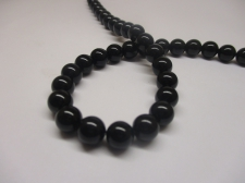 Black Agate 12mm +/-33pcs