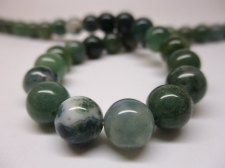Green Agate 8mm +/-53pcs