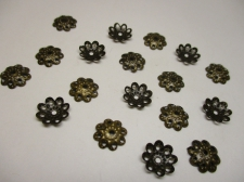 BEADCAP 10MM 100PCS #2 BRONZE