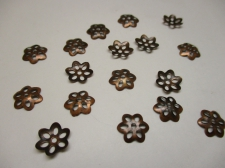 BEADCAP 10MM 100PCS #4 COPPER