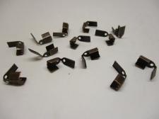 LEATHER CRMP +/-50PCS COPPER 4MM