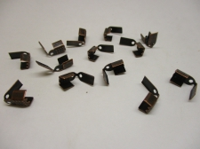 LEATHER CRMP +/-50PCS COPPER 4MM