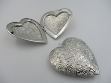 Pendant Locket 1pcs (N) 42x40mm Heart