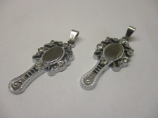 Charms Hand Mirror 2pcs