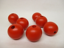 PASTEL WOOD 25MM 125G RED