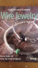 BOOK; COMPLETE GUIDE WIRE JEWELRY(BEAD STYLE  MAGAZINE)