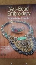 BOOK; ART OF BEAD EMBROIDERY (BEAD & BOTTON)
