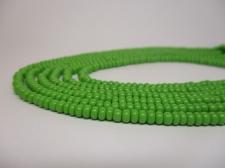 Czech Seed Beads 8/0 Opaque Lt Green 3str x +/-20cm