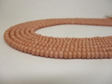 Czech Seed Beads 8/0 Opaque Lt Pink 3str x +/-20cm