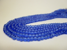 Czech Seed Beads 8/0 Crystal Lt Blue 3str x +/-20cm