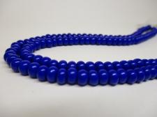 Czech Seed Beads 5/0 Opaque Blue 1str x +/-20cm