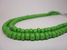 Czech Seed Beads 5/0 Opaque Lt Green 1str x +/-20cm