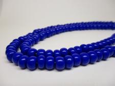 Czech Seed Beads 3/0 Opaque Blue 1str x +/-20cm