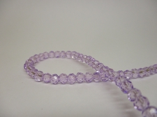 Crystal Round 4mm Lt Purple +/-100pcs