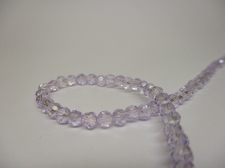 Crystal Round 4mm Lt Purple AB +/-100pcs