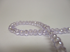 Crystal Disc 4mm Lt Purple AB  +/-140pcs