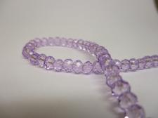 Crystal Disc 4mm Lt Purple  +/-140pcs