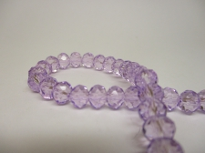 Crystal Disc 6mm Lt Purple +/-90pcs
