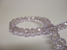 Crystal Disc 6mm Lt Purple AB +/-90pcs