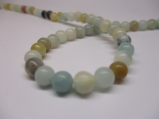 Amazonite 6mm +/-65pcs