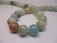 Amazonite 10mm +/-38pcs