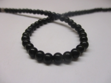 Obsidian 4mm +/-100pcs