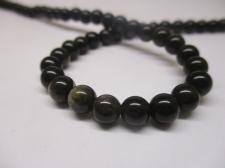 Obsidian 6mm +/-69pcs